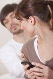 Secrets In Relationship Stock Images
