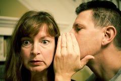 Secrets intimes (croix traitée) Image libre de droits
