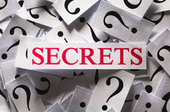 Secrets Royalty Free Stock Photos