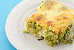 Secteur cuit au four de broccoli Photos libres de droits