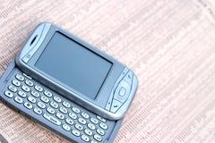 Secteur d'affaires de la téléphonie mobile photo stock