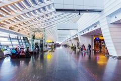 Secteur d'entrée principale d'aéroport de Taoyuan Photos libres de droits