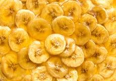 Secteur de bananes photo stock