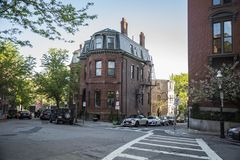 Secteur de Charlestown à Boston, mA Photos libres de droits