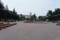 Secteur de compte Speransky à Irkoutsk Image stock