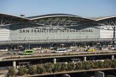 Secteur de départ de San Francisco International Airport Images libres de droits