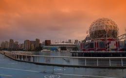 Secteur de False Creek à Vancouver Canada photos stock