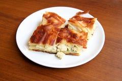 Secteur de fromage - Borek Photographie stock libre de droits