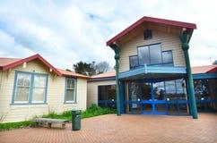Secteur de Kaitaia/cour de famille - Nouvelle-Zélande Photographie stock