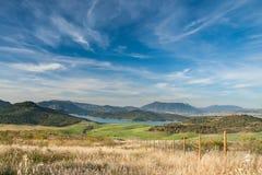 secteur de lac en Andalousie Photographie stock