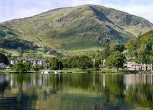 Secteur de lac Glenridding, d'Ullswater Photographie stock