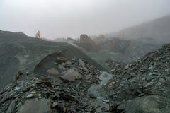 Secteur de lac mining d'ardoise image libre de droits