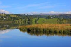Secteur de lac, R-U, Angleterre Photos libres de droits