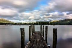 Secteur de lac, Royaume-Uni Photo libre de droits