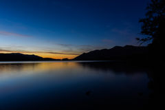 Secteur de lac, Royaume-Uni Photos libres de droits