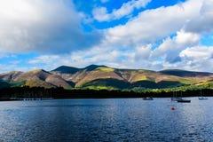 Secteur de lac, Royaume-Uni Photo stock