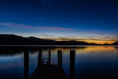 Secteur de lac, Royaume-Uni Photographie stock