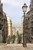 Secteur de Montmartre à Paris Photographie stock