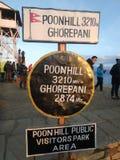 Secteur de parc de visiteuses de Poon Hill Public Image libre de droits