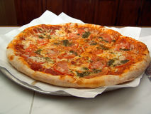 Secteur de pizza italien Photo stock