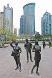 Secteur de Pudong Photos libres de droits