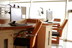 Secteur de service aux entreprises de café d'Internet Photo libre de droits