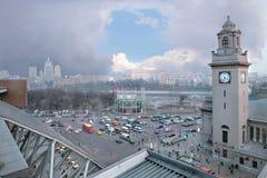 Secteur de station de Moscou Kievan, la région de l'Europe Image stock