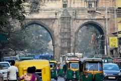 Secteur de ville d'Ahmedabad Images libres de droits