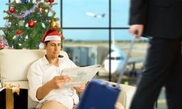 Secteur de VIP dans Noël Images stock