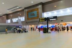 Secteur domestique de départs de Don Mueang International Airport dedans Images stock