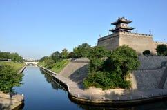 Secteur du coin du sud-est des murs de ville Images libres de droits