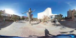 Secteur extérieur à Monte Carlo, Las Vegas - le parc Photographie stock