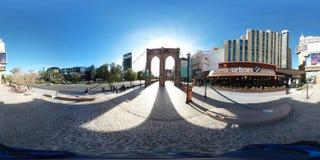 Secteur extérieur à New York, Las Vegas Images stock