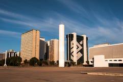 Secteur financier de Brasilia images stock