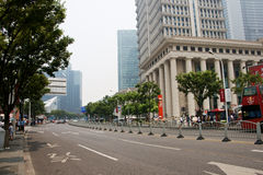 Secteur financier de Changhaï Photo stock