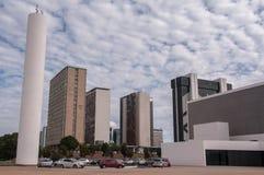 Secteur financier de ville de Brasilia image stock