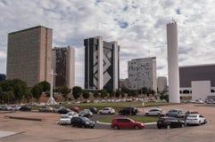 Secteur financier de ville de Brasilia photo libre de droits