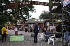 SECTEUR GRATUIT DE GÂCHIS DE CHRISTIANIA Photo libre de droits