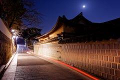 Secteur historique de Bukchon Hanok à Séoul, Corée du Sud Images stock