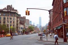 Secteur historique de Greenwich Village de New York Images libres de droits