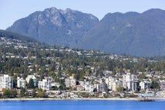 Secteur occidental de Vancouver Photos libres de droits