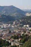 Secteur oriental, la Côte d'Azur agréable et dans les Frances Image libre de droits
