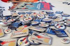 Secteur rotatoire 2240 - République Tchèque et la Slovaquie Image libre de droits