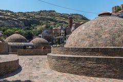 Secteur Tbilisi la Géorgie de bain public d'Abanotubani Photographie stock libre de droits