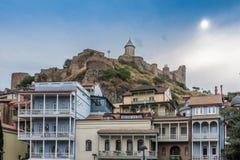Secteur Tbilisi la Géorgie de bain public d'Abanotubani Photographie stock