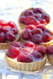 Secteurs de fraise Image stock