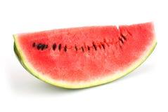Sectie van Rijp Gesneden Groen Watermeloen Geïsoleerda o Royalty-vrije Stock Foto