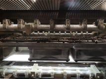 Secties drukmachines royalty-vrije stock afbeelding