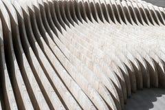 Secties van de concrete muur royalty-vrije stock foto
