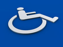 Section 508 de signe d'invalidité Photo libre de droits
